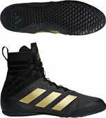 Adidas Speedex 18 Black Boxing Boots