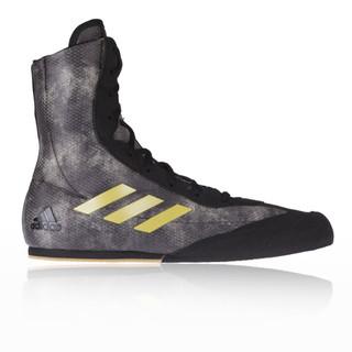 Adidas Box Hog Plus Black Boxing Boots