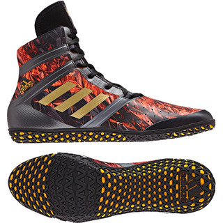 Adidas Flying Impact Black Wrestling Boots