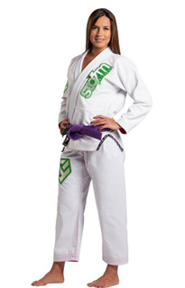 Storm Kimonos 2014 Commander Ladies BJJ Gi White