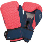 Century Brave Ladies Boxing Gloves Coral Navy