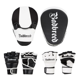 Badbreed Legion Focus Mitts And MMA Gloves Set
