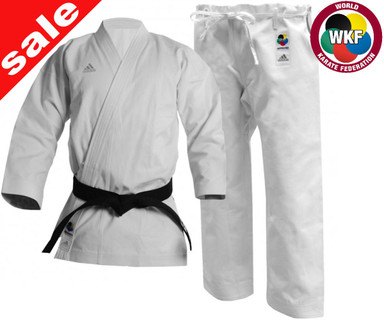 Shop Second Adidas WKF Elite Karate Uniform 14oz 160cm