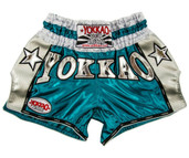 YOKKAO Vintage Carbon Shorts Blue Silver