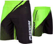 Venum Training Camp 2.0 Training Shorts Black Neo Yellow