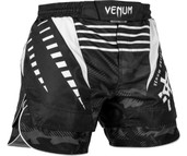 Venum Okinawa 2.0 Fight Shorts Black White