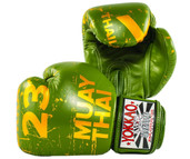 Yokkao Urban Muay Thai Boxing Gloves Green