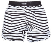 Scramble Dazzle Shorts Black White