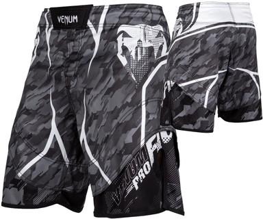 Venum Tecmo Fight Shorts Dark Grey