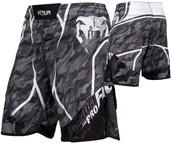 Venum Tecmo Fight Shorts Dark Grey