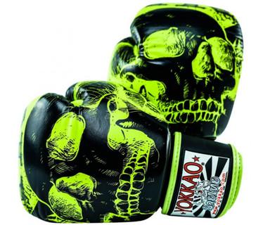 Yokkao Skullz Limited Edition Muay Thai Boxing Gloves