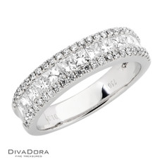 14 K DIAMOND BAND - RG15001