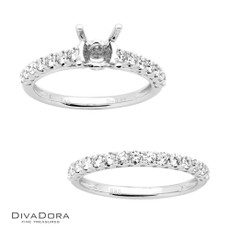 14 K PRONG ENG SET - RG16558