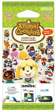 Animal Crossing: Happy Home Designer Amiibo 3 Card Pack (Nintendo 3DS) product image