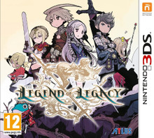 The Legend of Legacy (Nintendo 3DS) product image