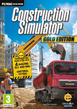 Construction Simulator Gold (PC DVD) product image
