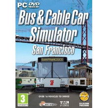 Bus & Cable Car Simulator - San Francisco (PC DVD) product image
