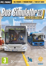 Bus Simulator 2016 Gold Edition (PC DVD) product image