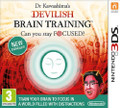 Dr Kawashima Devilish Brain Training  (Nintendo 3DS) product image