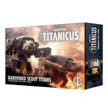 Adeptus Titanicus: Warhound Scout Titans product image
