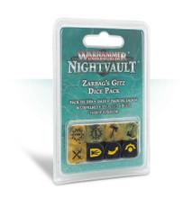 Warhammer Underworlds: Night Vault Zarbag's Gitz Dice Set product image