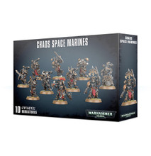 Chaos Space Marines [10 figures - 2019 edition] product image