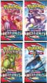 Pokemon - Sword & Shield - Battle Styles - Booster Pack x4