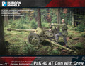 Rubicon Models - PaK 40 AT Gun with Crew (1/56 scale) product image