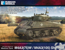 Rubicon Models - M4A3(75)W / M4A3(105) (1/56 scale) product image