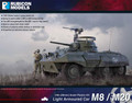 Rubicon Models - M8 Greyhound / M20 Scout Car - Armoured Car (1/56 scale)