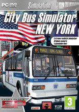 City Bus Simulator New York: Extra Play (PC DVD) product image