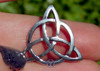 Blessed Be Inscribed Triquetra Pendant