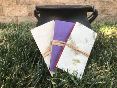 Spell paper - Color Magick Sizzling Handcrafted Spell Paper