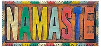 Namaste Wall Plaque