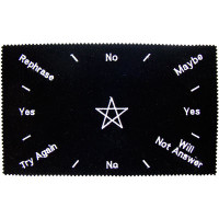 Pentacle Pendulum Divination Cloth