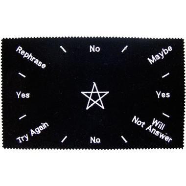 Pentacle Pendulum Divination Cloth