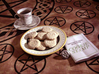 Pentacle cookie stamp