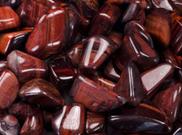 Red tiger's eye, tumbled