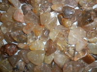 Rutilated Quartz - Tumbled