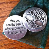 Tree of Life Pocket Blessing Charm