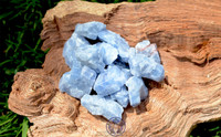 Blue Calcite, Natural