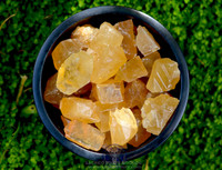 Honey Calcite, Natural