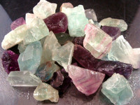 Natural state Fluorite