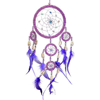 Bright Spirit Beaded Dream Catcher