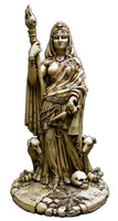 Hekate Goddess of the Crossroads - Bone Finish