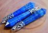Lapis Lazuli Crystal Point Pendant