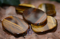 Golden Tiger's Eye Medallion