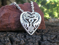 The Dragon Heart Pendant