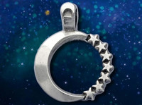 Stargazers Necklace - Moon + Stars