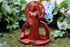 Brighid Tealight Altar Statue - front view